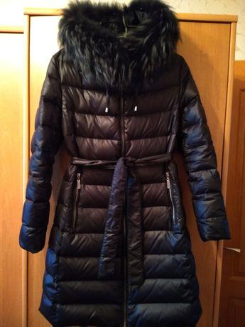 Женский пуховик пальто куртка
