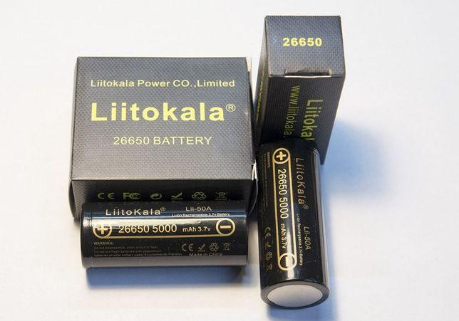 Аккумулятор LiitoKala 26650 5000mAh (оригинал)