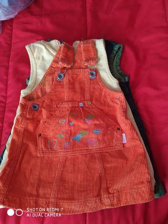 Pack de vestidos de menina 1 ano
