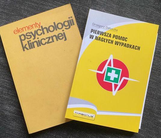 Elementy psychologii klinicznej + pierwsza pomoc w nagłych wypadkach