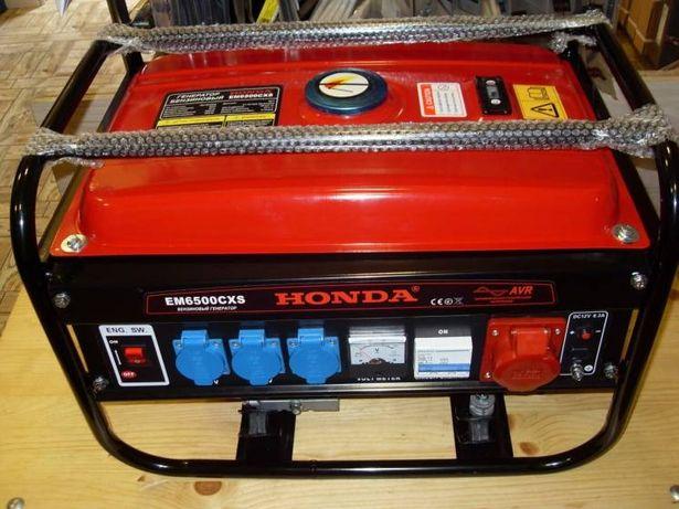 Бензиновый генератор Honda EM6500 CSX