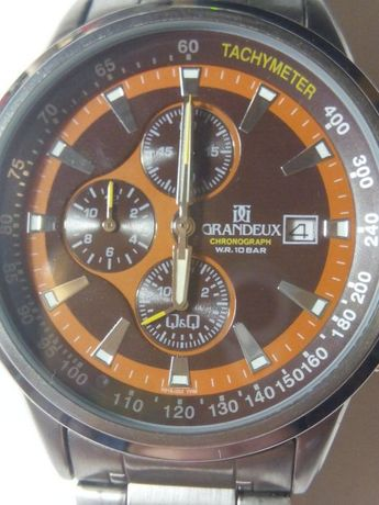 Часы-хронограф GRANDEUX (Q&Q)