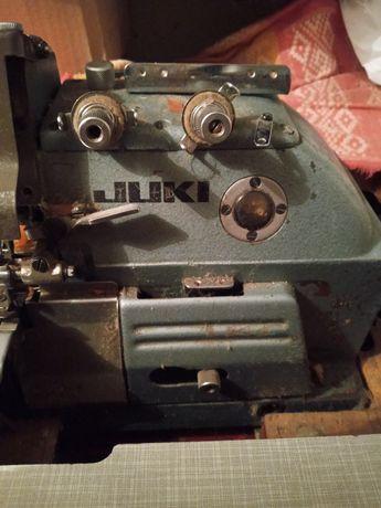 Оверлок,  швейная машинка пятиниточный Juki Джуки