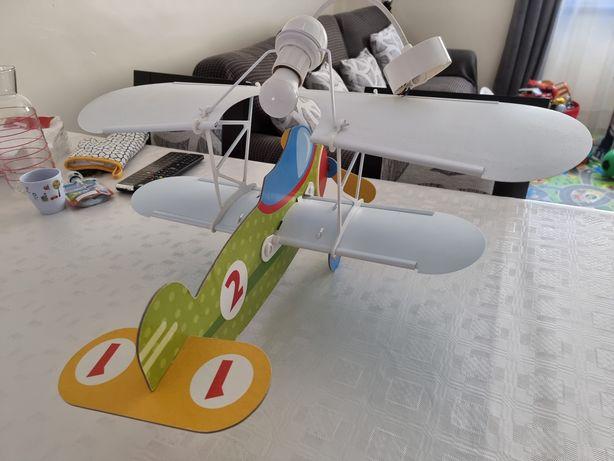 Candeeiro - Avião - Quarto Criança