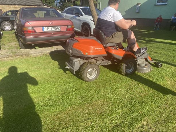 Traktorek Husqvarna
