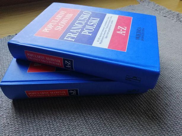 słownik francuski wiedza powszechna, bdb