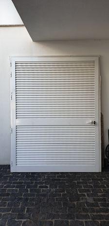 Porta Ventilada Alumínio 190*247cm