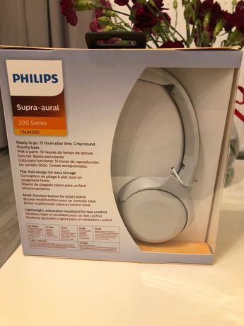 Słuchawki PHILIPS Supra-aural białe