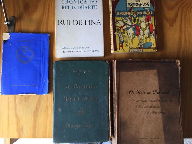 5 livros de Vilhena  ( 1ªEdição ), João Chagas etc