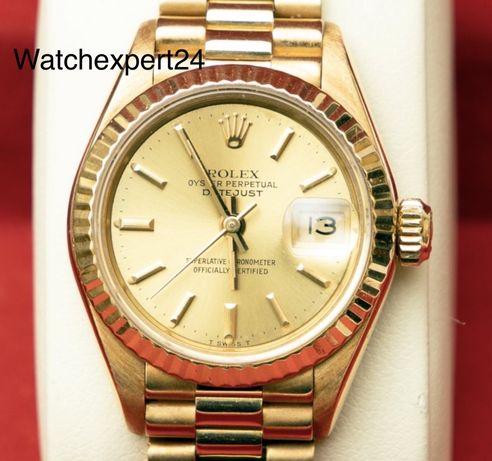 Rolex Datejust Ladies 69178 18k yellow gold 26мм