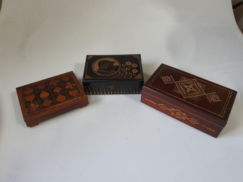 Stare pudełka drewniane Dzierżoniów - image 1