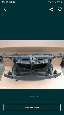 Pas przedni wzmocnienie chłodnice BMW 1 1.6
