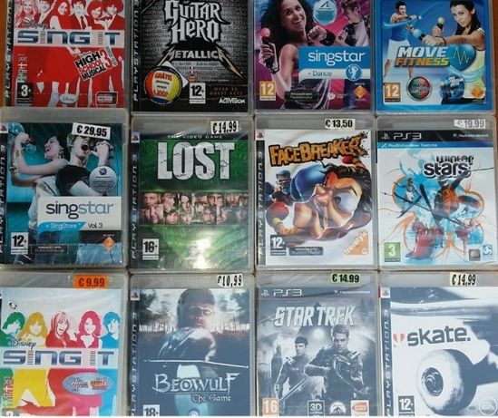 Jogos PS2,PS3,PS4,PSP,Nintendo DS,wii,X-‑box