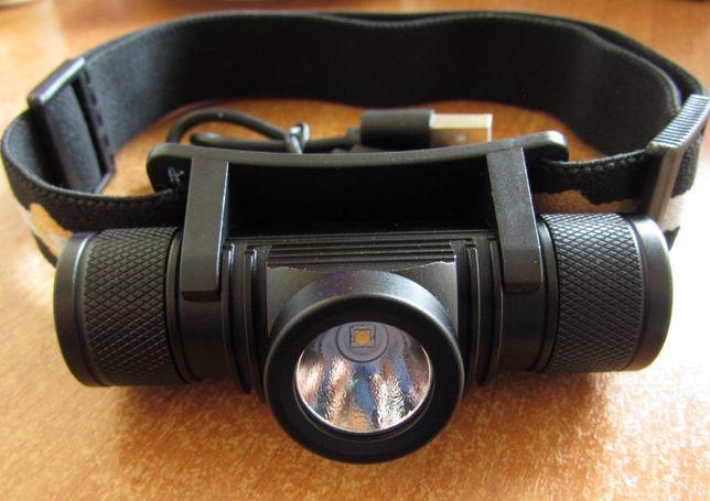 Налобный фонарик Boruit D10 D15 D20 D25 /туризм/охота/вело/рыбалка