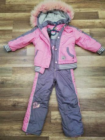 Детский зимний костюм-комбинезон 3 - 5 лет