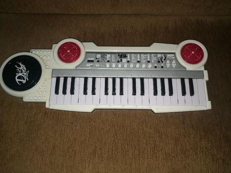 disc mixer keybord