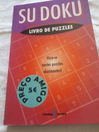 SUDOKU livro de puzzles