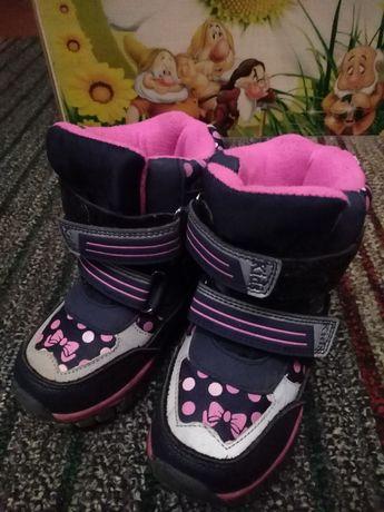 Зимние ботинки ботиночки Tom. m для девочки размер 26