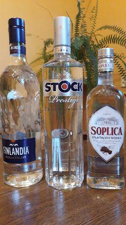 Wódka Finlandia 1l Stock 1l Soplica 0,5l czysta wódka dobrej jakości