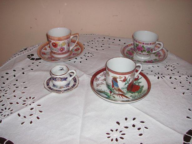 Chávenas Porcelana Macau, Chinesa e J S3
