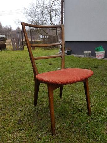 Wyjątkowe krzesło prl vintage boho klasyk antyk Grabiński, Swarzędzka