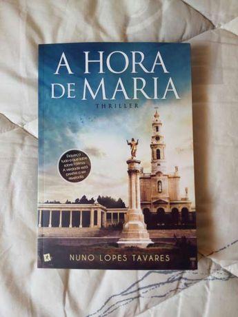 """Livro """"A Hora de Maria"""" de Nuno Lopes Tavares"""