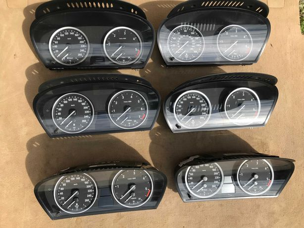 BMW X5 E53 E70 E60 Щиток приборов подрулевой шлейф панель