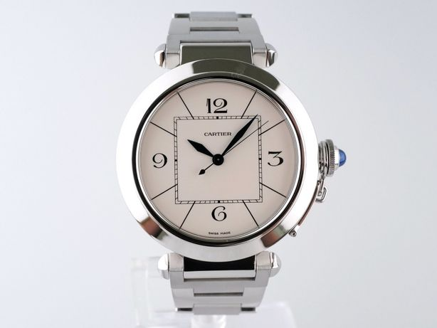 Мужские бу часы Cartier Pasha 42 мм