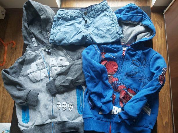 Bluzy i spodenki