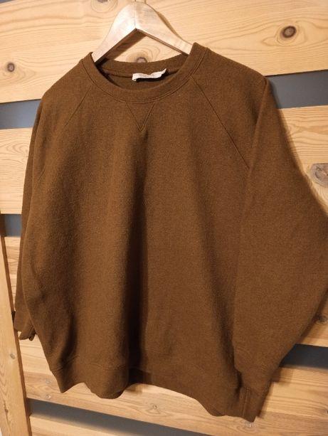 Rabens Saloner Billie bluza sweter wełniany vintage boxy