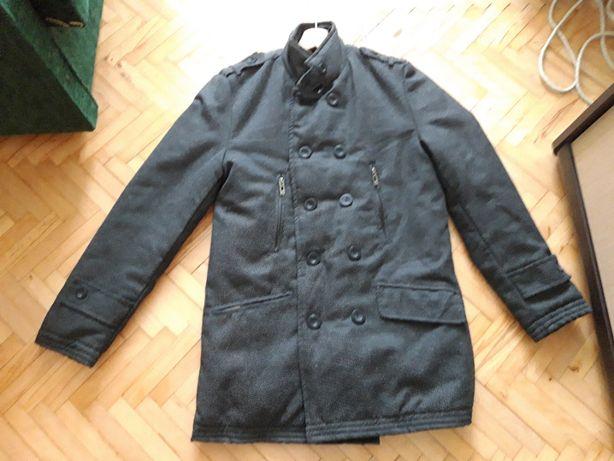 Płaszcz ciemnoszary rozmiar S