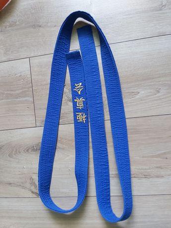 Pas do kimona niebieski 250cm