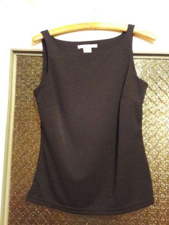 elegancka czarna bluzka na ramiączka 'M' idealna do spódnicy