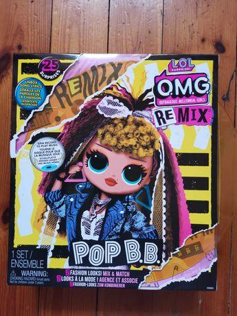Lalka muzyczna R&B LOL OMG Remix MGA POP B.B. z płytą winylową, 23 cm