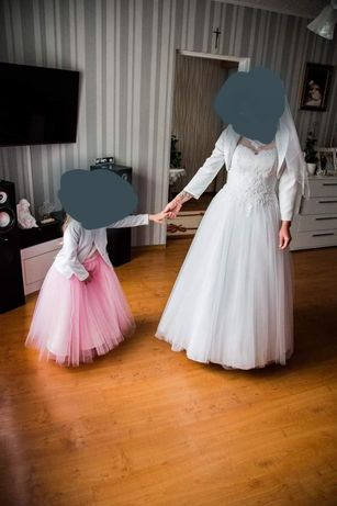 Sprzedam suknie ślubną stan bdb