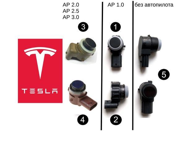 Парктроник Tesla Датчик парковки Тесла Model S X 3