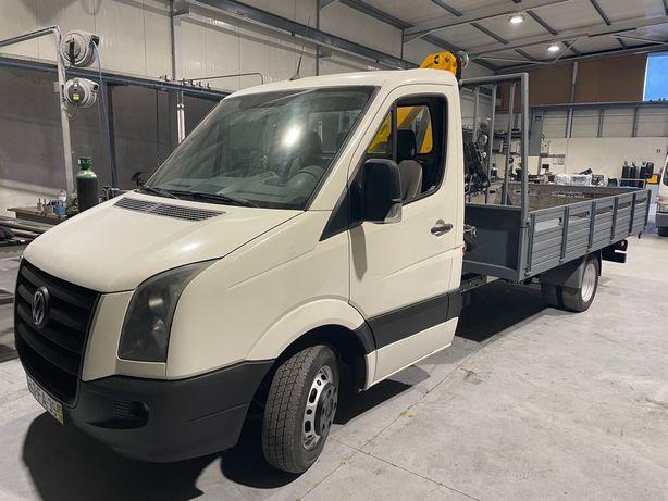 Carrinha Volkswagen craft com grua nova