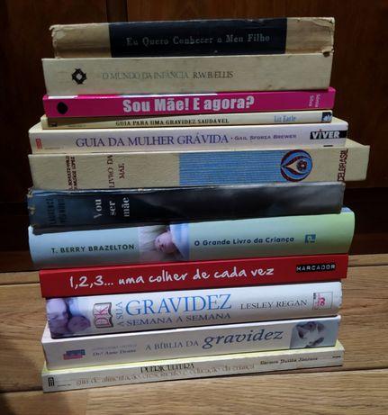 Livros sobre gravidez e maternidade