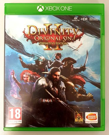 Divinity: Original Sin 2 PL Definitive Edition Xbox One. Stan idealny!