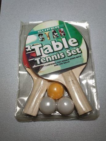 Набор для настольного тенниса (2 ракетки и 3 шарика)