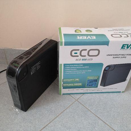 Zasilacz ups Ever Eco 800 lcd