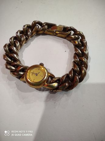 Mini zegarek SEIKO złoty