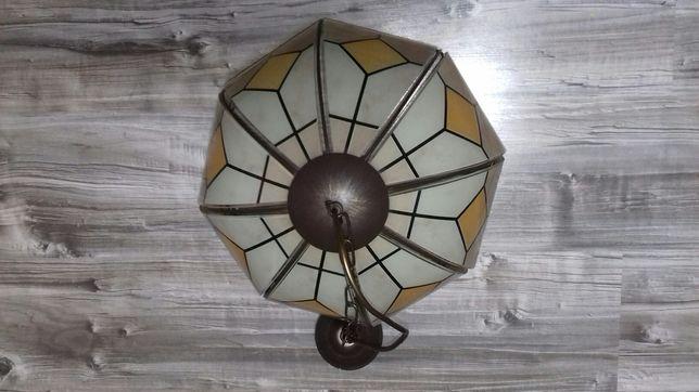 Sprzedam lampę witrażowa sufitowa