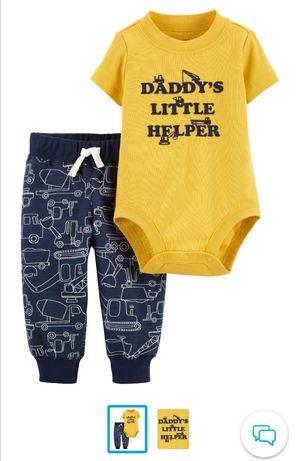 Одежда для малышей Carters 3-6 мес