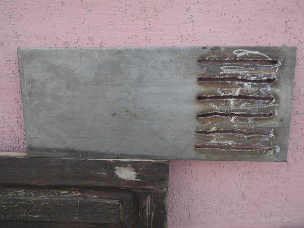 Вечная плита колосниковая из нержавстали толщиной 14 мм для печей .