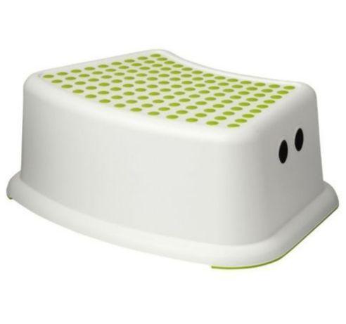 Ikea FÖRSIKTIG ,ФЕРСІКТІГ  Детский табурет ,подиум, білий/зелений