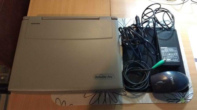 Portátil Toshiba Satellite Pro 440CDX clássico raro win 98 ms-dos