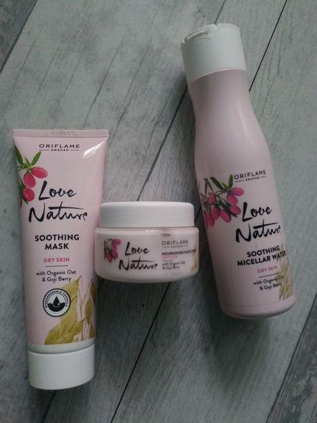 Zestaw Kosmetyków Love Nature Oriflame