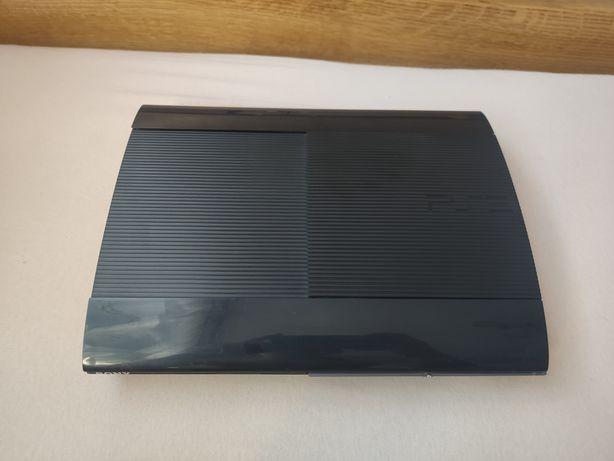 PS3 slim 500gb + kabel zasilający + kabel EURO