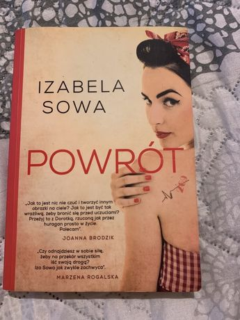 "Ksiazka pt. ""Powrót"" Izabela Sowa"